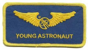 Blue nasa astronaut wings patches